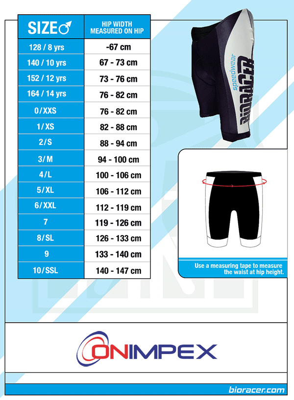 bioracer-mens-shorts-size-chart