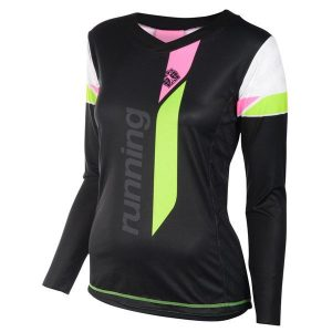 RUNNING T-SHIRT V LONG SLEEVES WOMEN